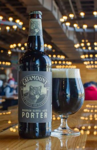 Harpoon Catamount Bourbon Barrel Aged Porter