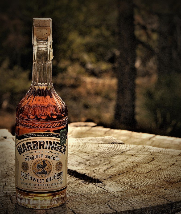 Warbringer Mesquite Smoked Southwest Bourbon