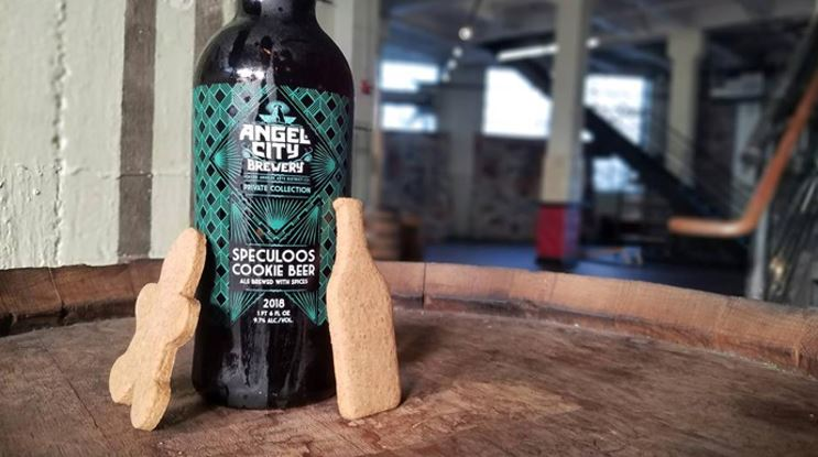 Angel City Brewery Speculoos Cookie Beer 2018