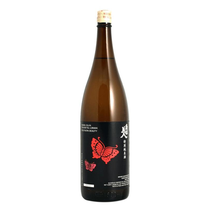 """Nanbu Bijin """"Southern Beauty"""" Tokubetsu Junmai Sake"""