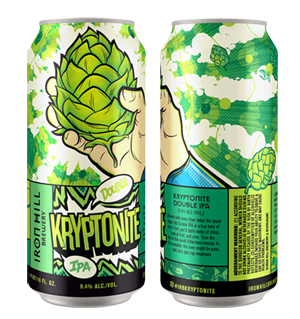 Iron Hill Brewery Kryptonite Double IPA