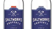 Seaworks Salted Vodka Bottles