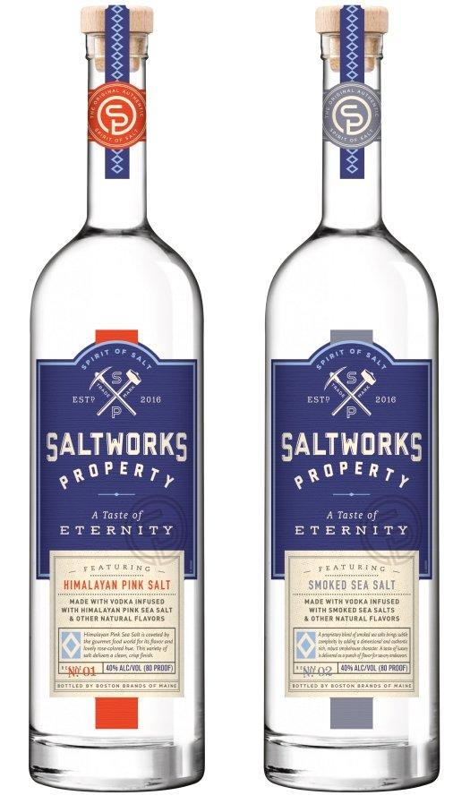 Saltworks Property Smoked Sea Salt Vodka