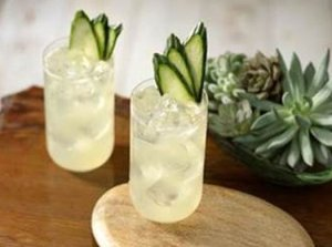 Cucumber Coconut Margarita