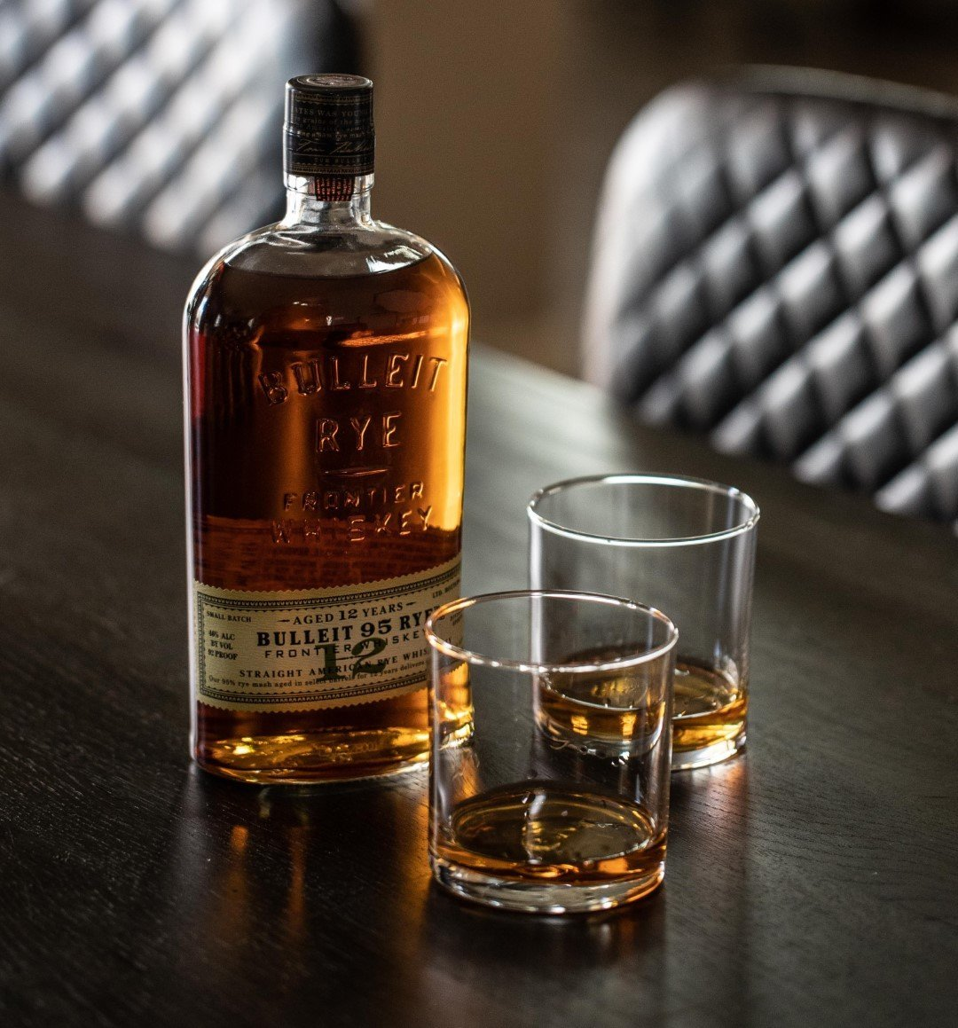 Bulleit Rye Whiskey 12 Years Old