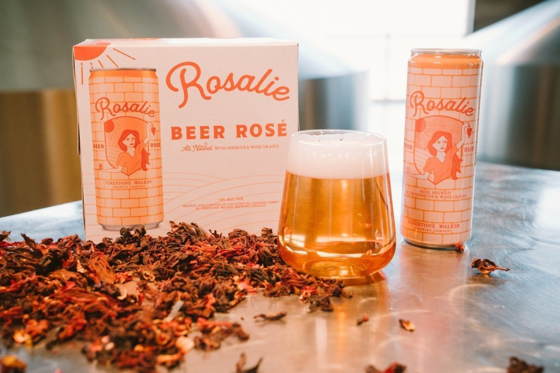 Firestone Walker Rosalie Beer Rose