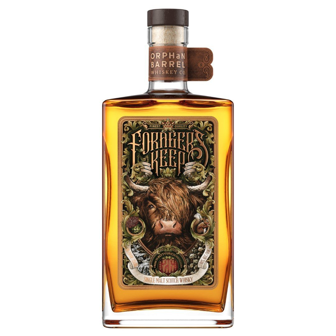 Diageo Orphan Barrel Project Forager's Keep 26 Years Old