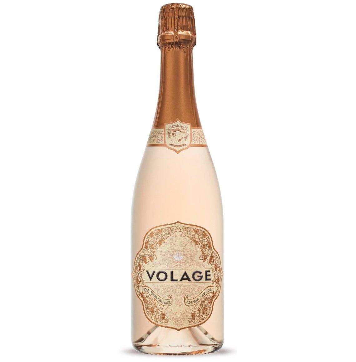 NV Volage Cremant de Loire Rose Brut Sauvage