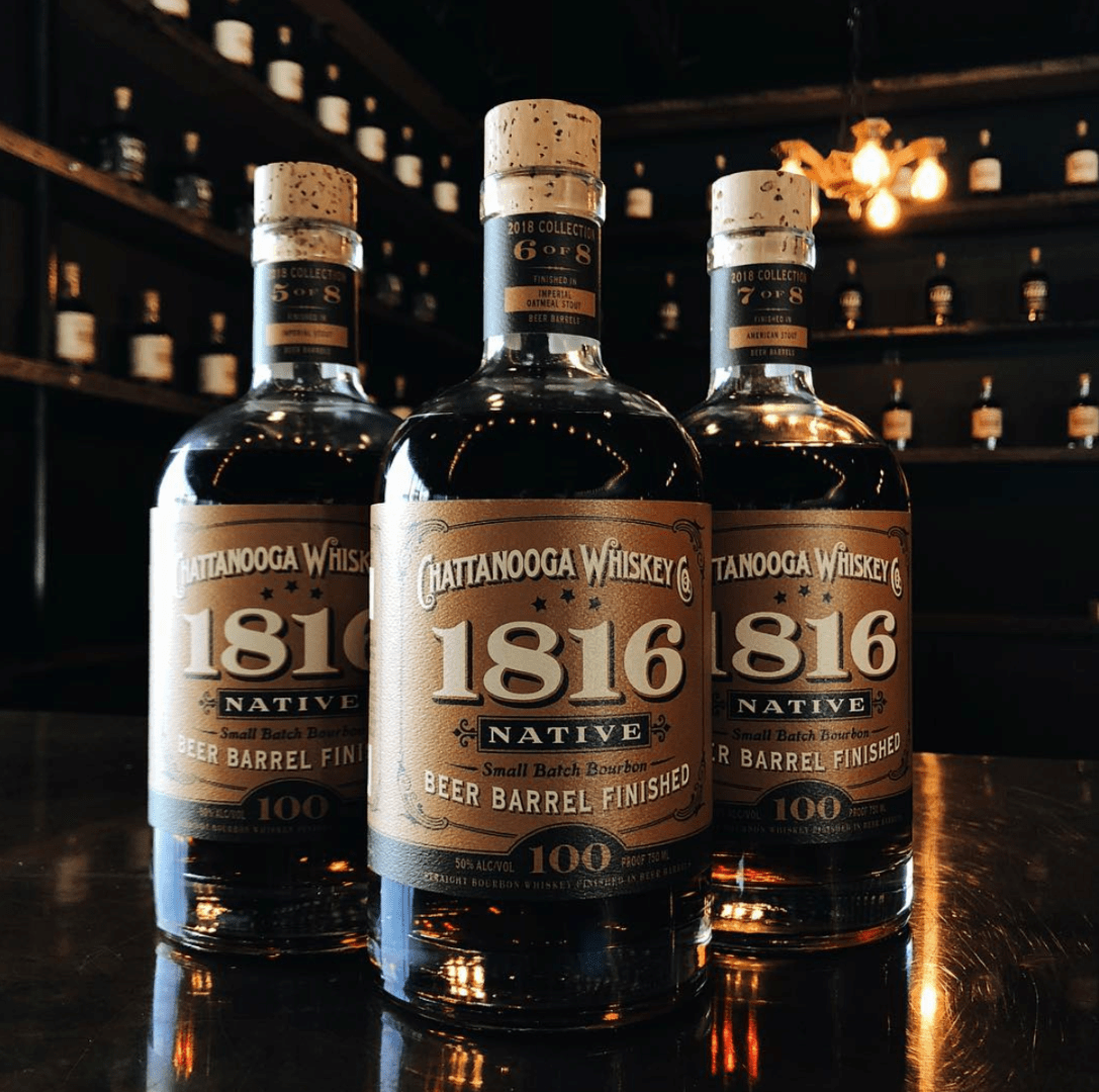 Chattanooga Whiskey Co. 1816 Native Series - Three Taverns Brewery Beer Barrel Finished