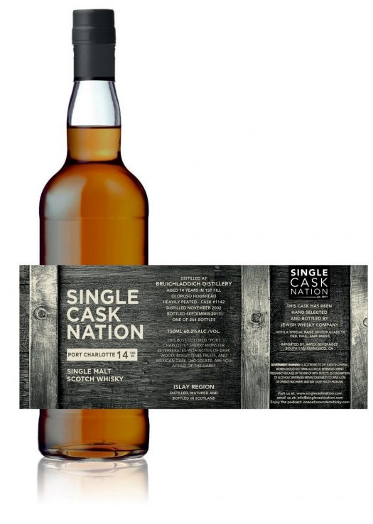 Single Cask Nation Port Charlotte 14 Years Old