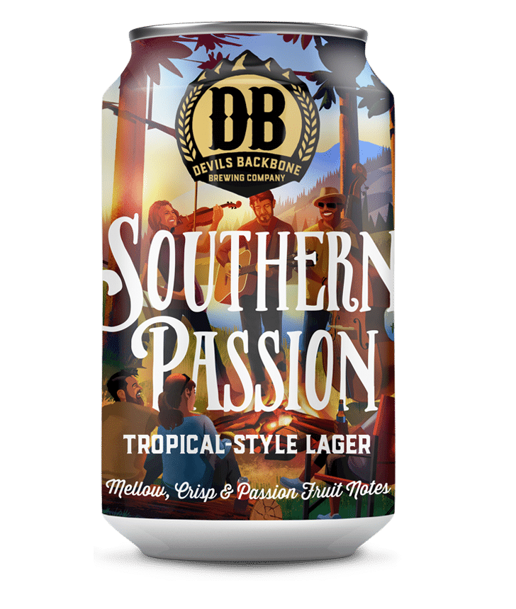 Devils Backbone Southern Passion Tropical-Style Lager