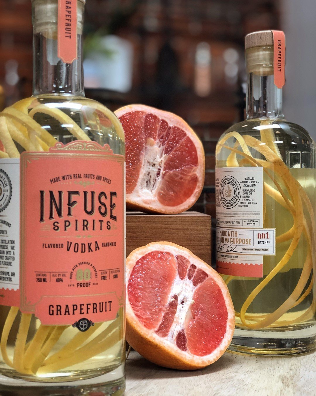 Review: Infuse Spirits Grapefruit Vodka