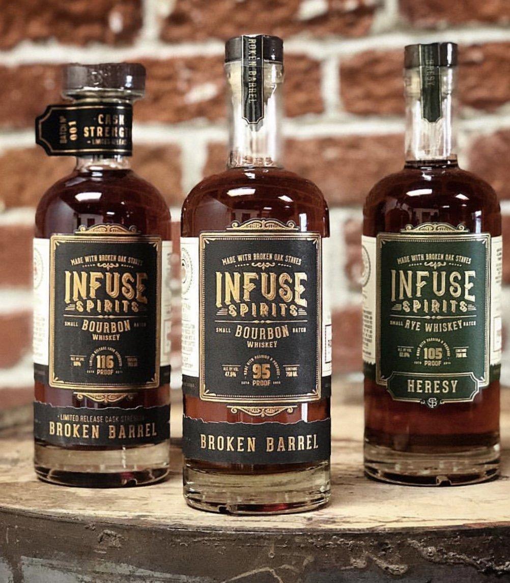 Infuse Spirits Broken Barrel Bourbon