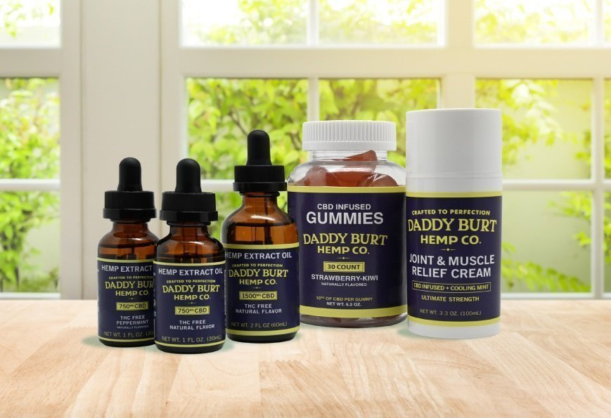 Daddy Burt Hemp Co. CBD Natural Flavor