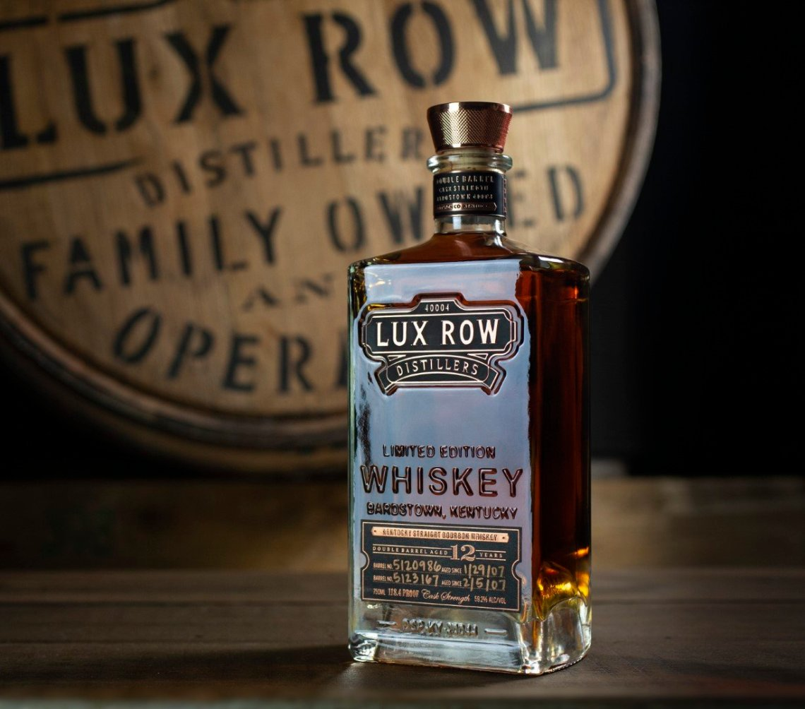 Lux Row Distillers Double Barrel Bourbon 12 Years Old