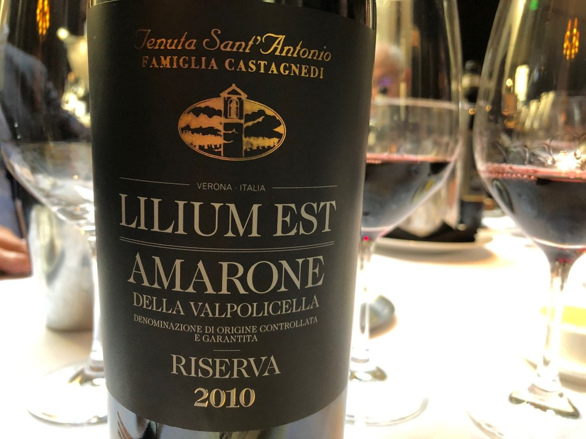 "2010 Tenuta Sant'Antonio ""Lilium Est"" Amarone della Valpolicella Riserva DOC"