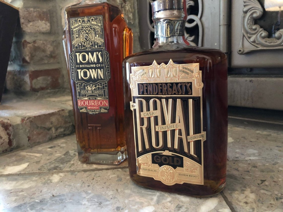Tom's Town Pendergast's Royal Gold Bourbon