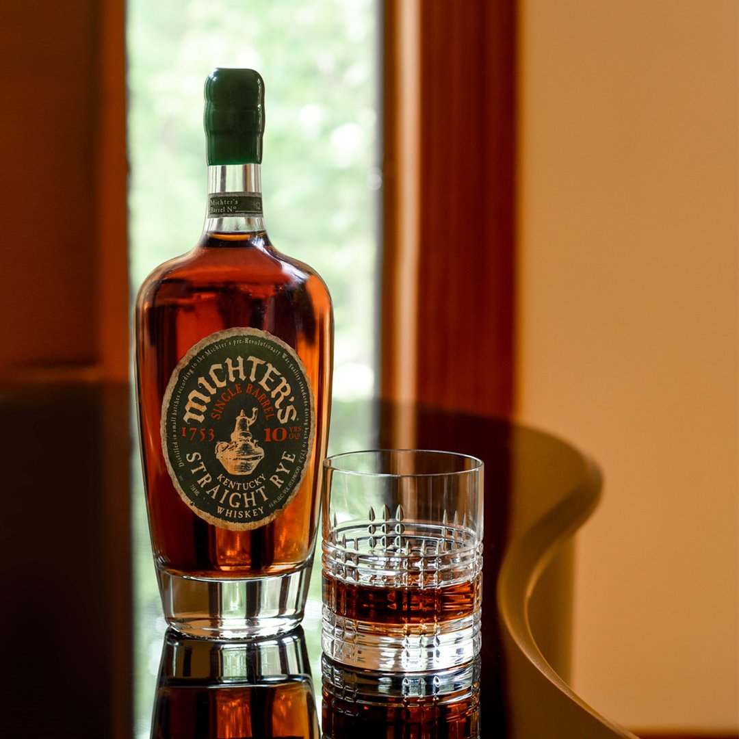 Michter's Single Barrel Straight Rye 10 Years Old 2020