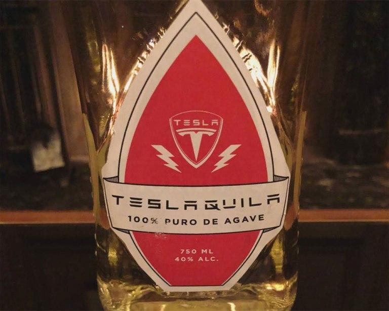 Tesla алкоголь