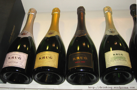 Krug Champagnes at Fortnum and Mason