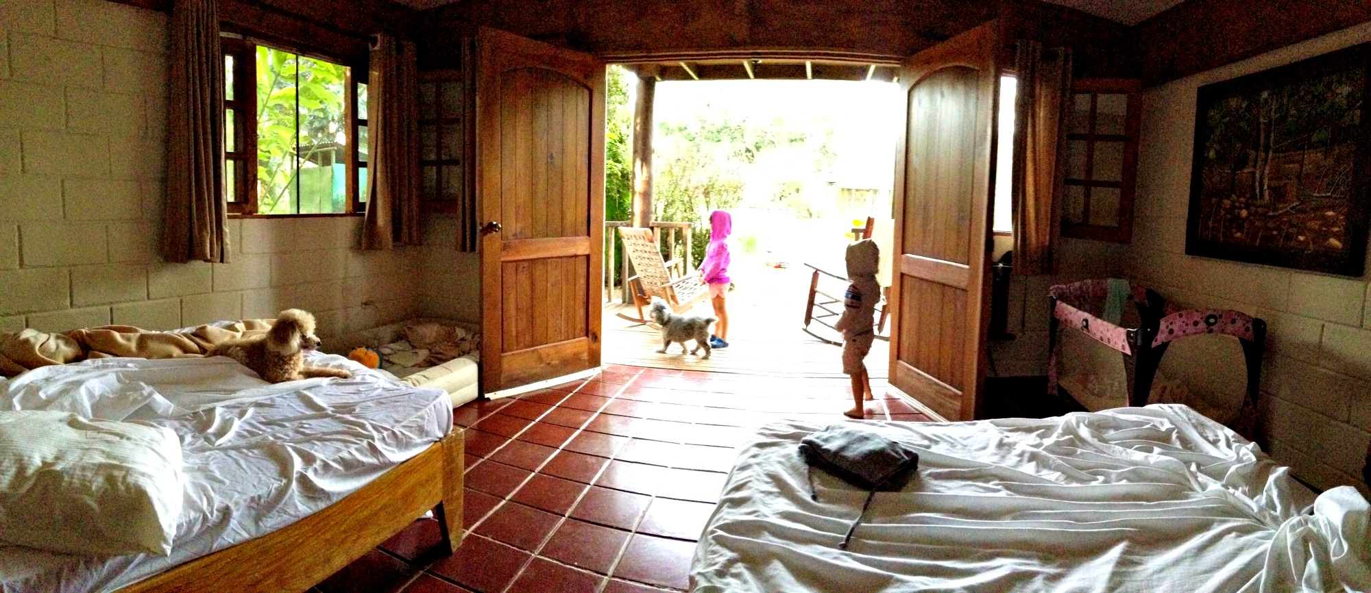 Our room at Rancho Baiguate
