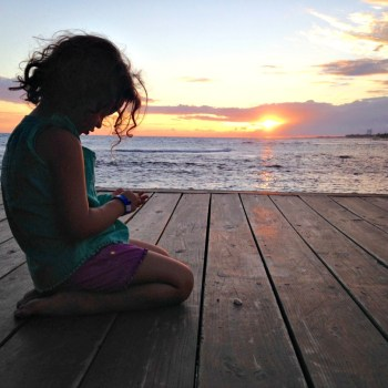 Gorgeous Sunset with Rafa