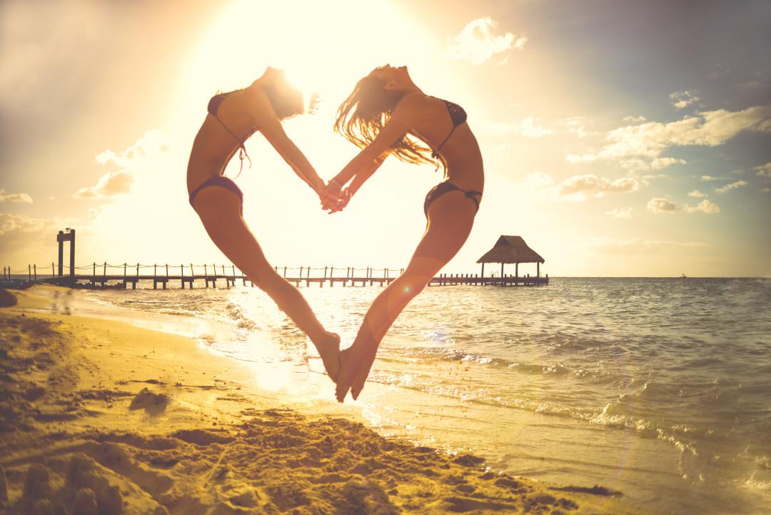 Valentine's Day Beach Style