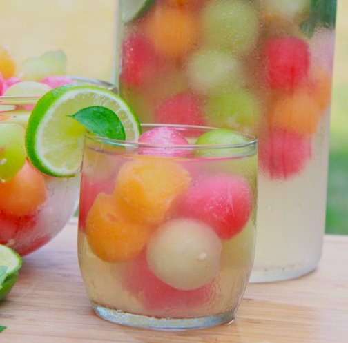 adult melon ball punch