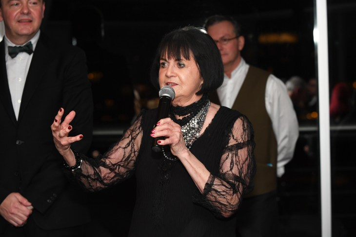 Champagne consultant Bernadette O'Shea at the 2018 Vin de Champagne Awards in Sydney