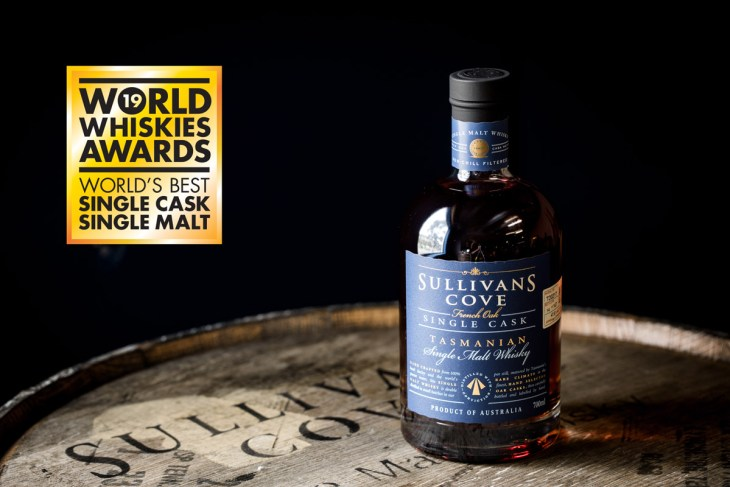 Sullivans Cove won World's Best Single Malt for the first time at the World Whiskies Awards 2014