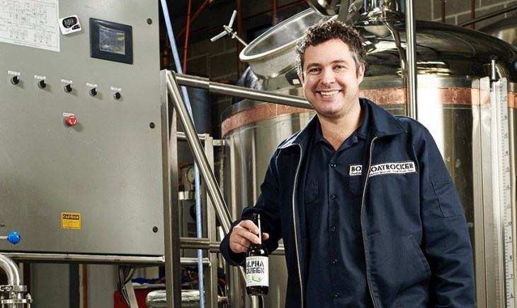 Matt Houghton Boatrocker brewery