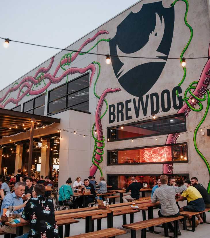DogTap Brisbane, Brewdog's new Australian brewery and bar