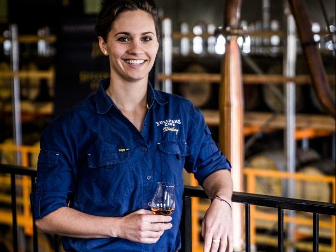Sullivans Cove Whisky production manager Heather Tillott