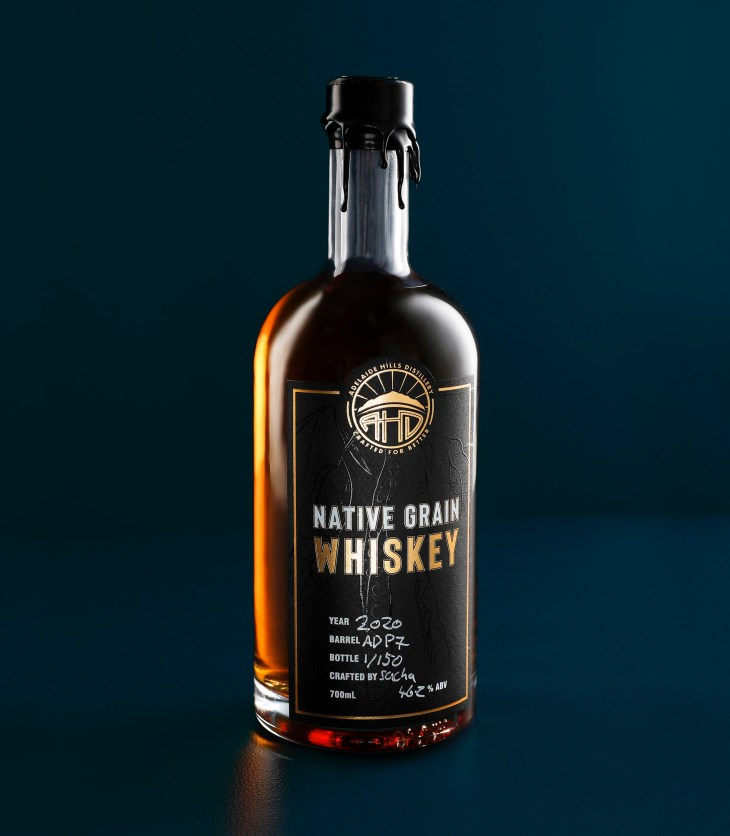 Adelaide Hills Distillery's Native Grain Whiskey 2020