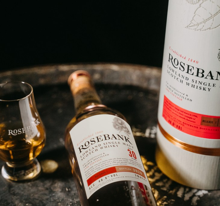 Rosebank Whisky 30 Year Old Lowland Single Malt