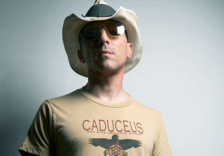 Maynard James Keenan, winemaker at Caduceus Cellars and Merkin Vineyards in Arizona