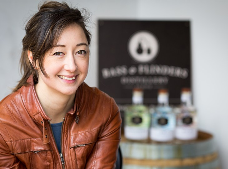 Bass & Flinders head distiller, Holly Klintworth