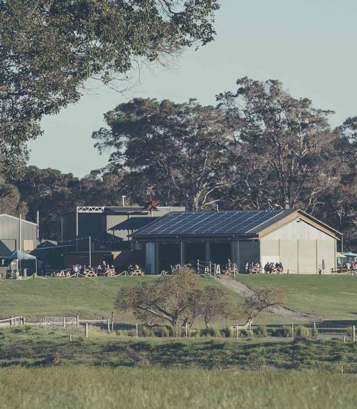 Beerfarm's original brewery and restaurant in Margaret River