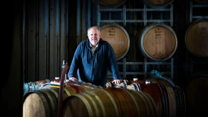 Meerea Park winemaker Rhys Eather