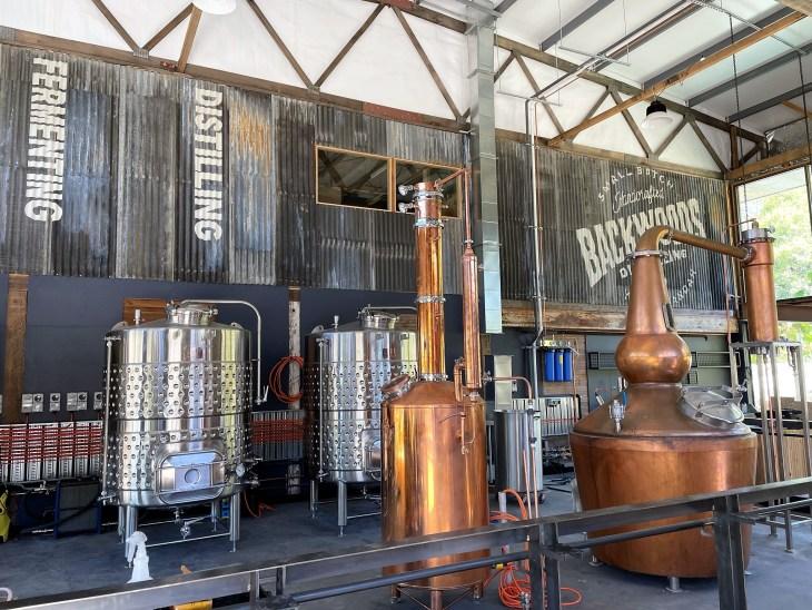 Backwoods Distilling, Yackandandah cellar door