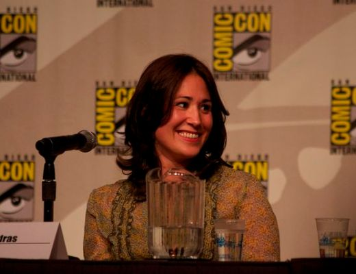 Emily Andras at SDCC 2012