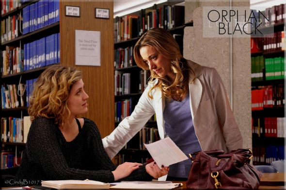 Lauren and Delphine from Orphan Black