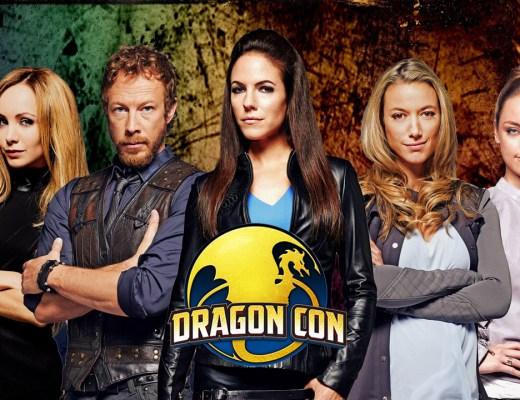 Lost Girl cast at Dragon Con promo