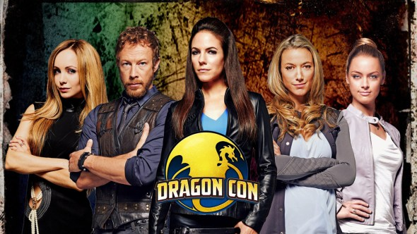 Lost Girl cast at Dragon Con promo