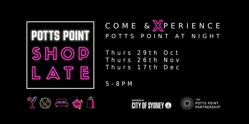 Potts Point Shop Late