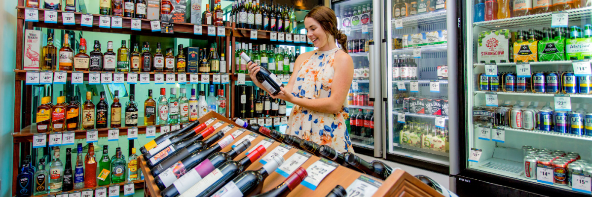 South West Rocks Country Club bottle shop