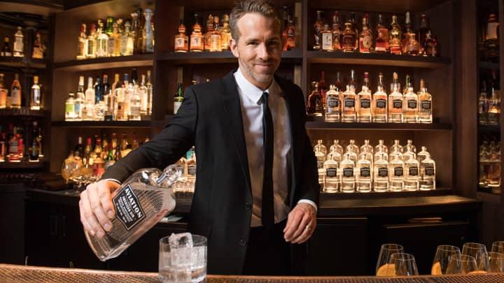 Ryan Reynolds; Aviation Gin
