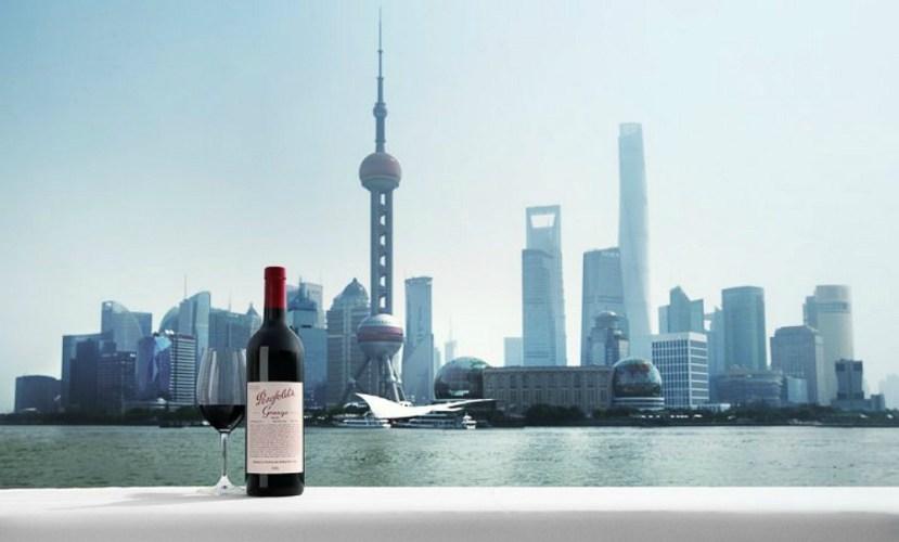 Treasury Wine Estates; Shanghai