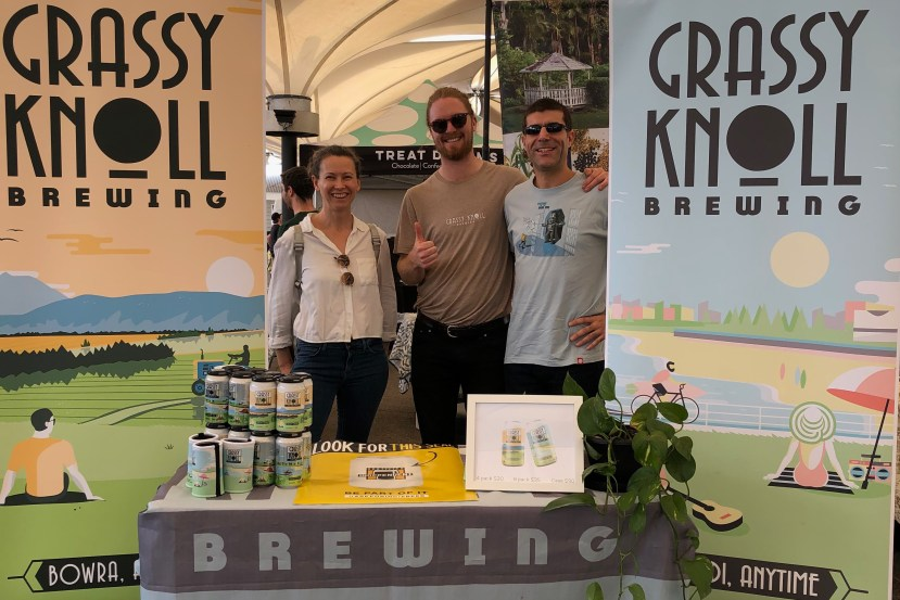 Grassy Knoll craft beer