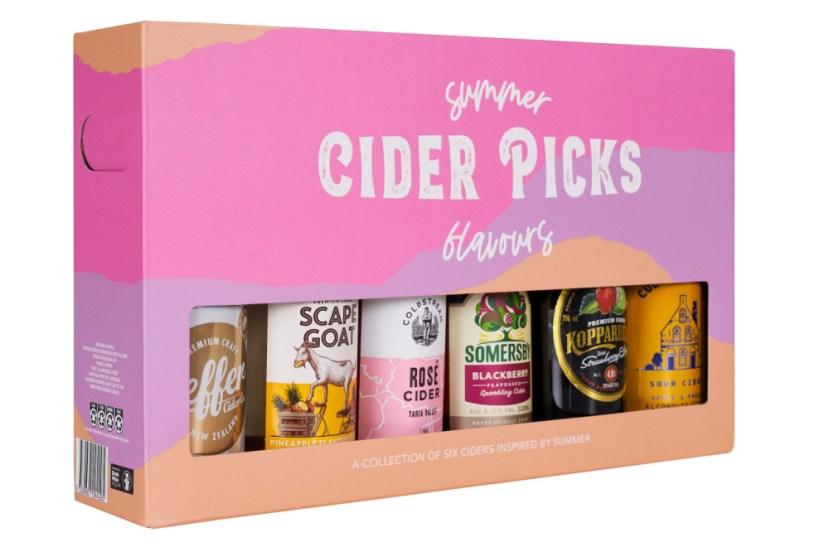 Cider revival; summer cider picks pack